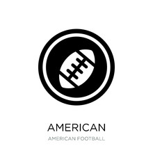 American Football Emblem Icon ...