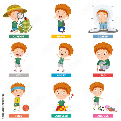 Fotografia Vector Illustration Of Cartoon Character