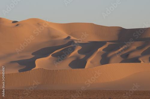 Poster de jardin Desert de sable Mumont Sand Dunes in California.