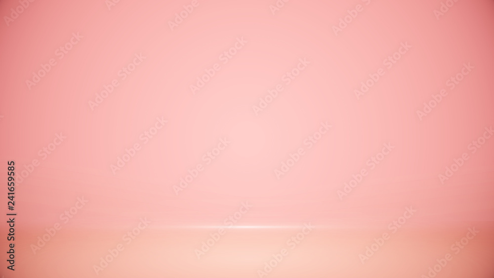 Fototapety, obrazy: Studio room Blurred background Soft gradient pastel. With lighting Well use as Business backdrop, Template mock up for display of product