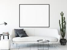 Frame Mockup. Living Room Inte...