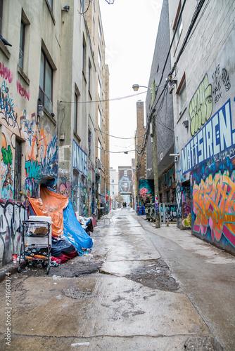 Poster Maroc Graffiti Alley Toronto