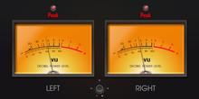 Analog VU Meter With Peak LED....