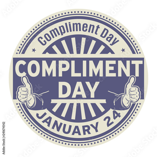 Fotografía  Compliment Day, January 24