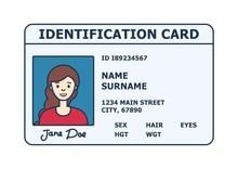 Person Identification Badge. I...