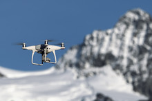 Close-up Of Drone Flying In Fr...