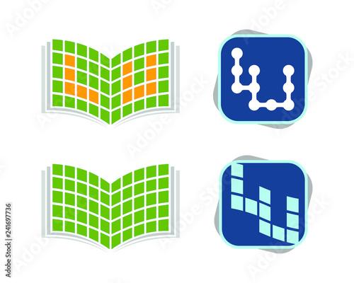 book lu square Fototapete