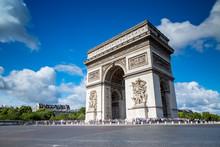 Arc De Triomphe On The Champs ...