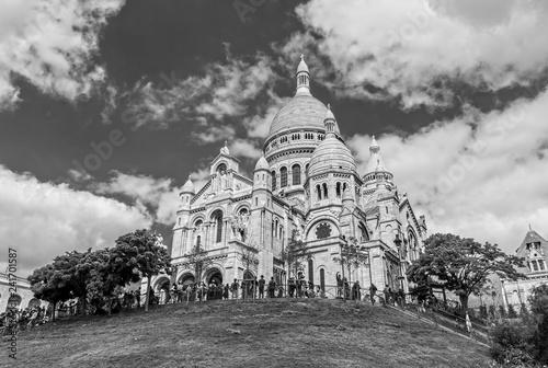 фотография Sacre Coeur on the Montmartre Hill