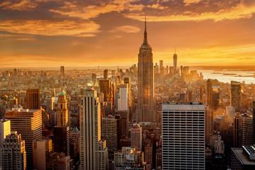 Fototapeta Nowy York Manhattan skyline . New York City