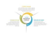Circle Infographics - Three El...