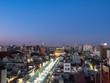【都市景観】東京 台東区 浅草 浅草寺 夜景