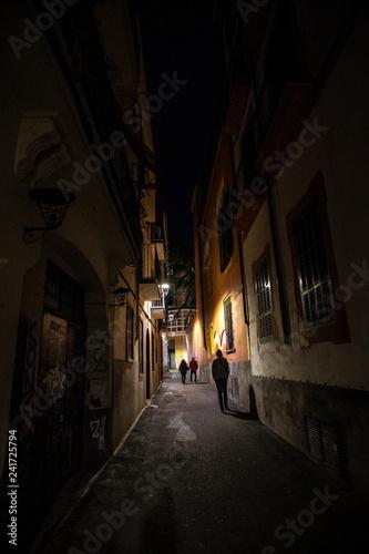 Fotografie, Obraz  Altstadt bei Nacht