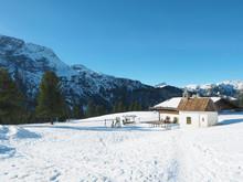 Plätzwiese In Den Dolomiten - Südtirol