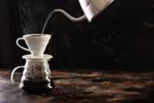 Making Pour Over Coffee