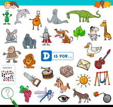 D Is For Educational Game For ...