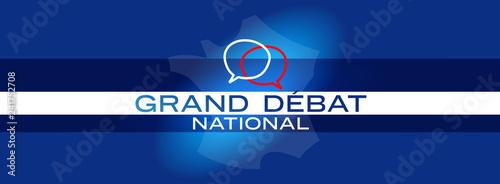 Fotomural  Grand débat national