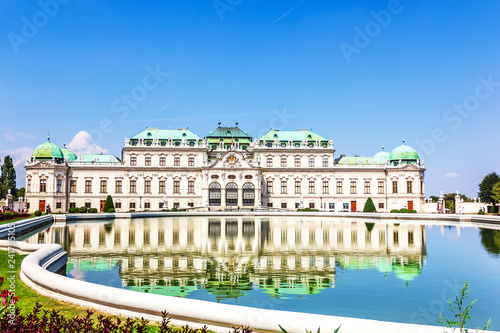 Foto  Belvedere Palace, beautiful view, Austria no people
