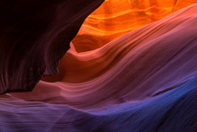 The Colors Of Lower Antelope Canyon, AZ.