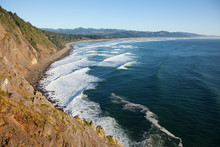 Looking Out On The Pacific Oce...