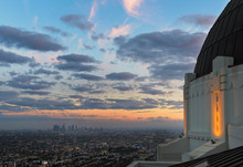 Downtown Los Angeles California From Griffith Observatory.
