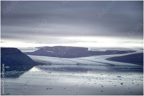 Valokuvatapetti Gletscher auf Grönland, Thule Airbase