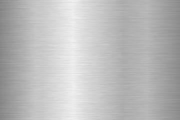 Brushed metal texture. Steel background. Vector illustration.