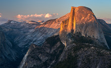 Half Dome From Glacier Point, Yosemite National Park, California, USA