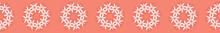 Coral Geometric Edelweis...