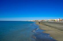 Tyrrhenian Sea. Rome. Embankme...
