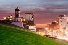 Historic Clock Tower In Halifax