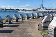 View Of The Pearl Harbor Historic Sites, Honolulu, Hawaii