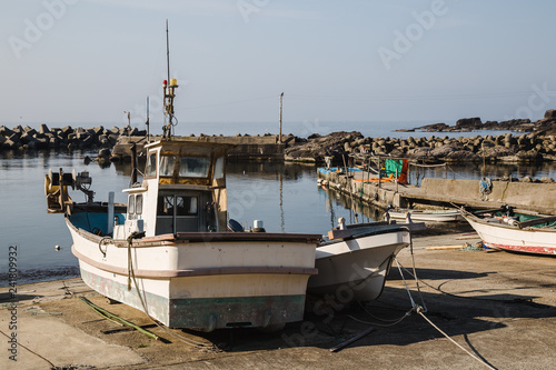 Fotografie, Obraz  Traditional fishing village in Wajima, Noto Hanto Japan