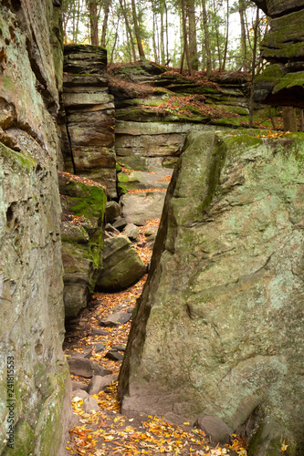 Valokuva Sedimentary rock of Ritchie Ledges in Cuyahoga Valley National Park