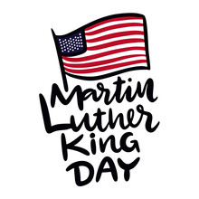 Martin Luther King Jr Day Hand...