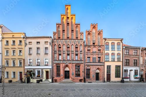 Fotografía House of Kopernik - famous landmark of Torun, Poland