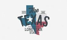 Texas State Logo, Emblem, Labe...