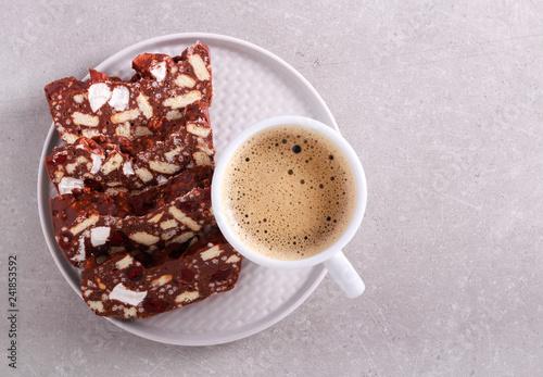 Hedgehog slice - chocolate dessert