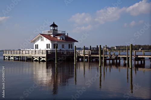 Fotografie, Obraz  Roanoke Island Lighthouse - Atlantic Coast of North Carolina