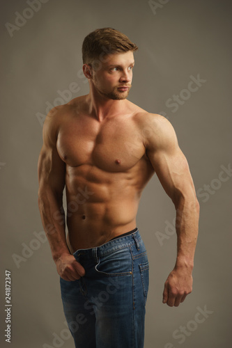 Fotografie, Obraz  Irresistible muscular man