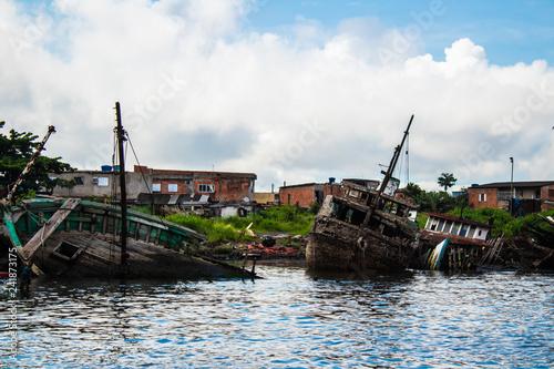Fotografie, Obraz  barcos