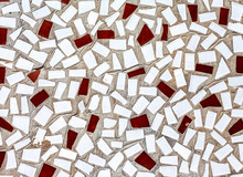Abstract Mosaic Texture Of Broken Tiles As Background