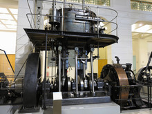 26.05.2018, Wien, Austria: Giant Steam Engine In Vienna Technical Museum