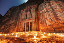 Petra By Night, Treasury Ancie...