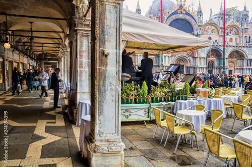 Tuinposter Centraal Europa Venedig, Markusplatz
