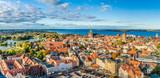 Panoramablick über Stralsund