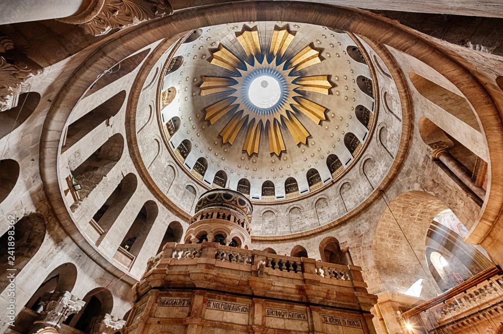 Fototapety, obrazy: Church of the Holy Sepulchre Interior