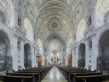 Interior Of St. Michael's Chur...