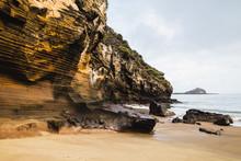 Rocky Landscape Of The Galapagos Islands Ecuador