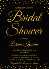 Bridal Shower Invitation Card....